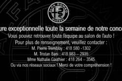 Alfa Romeo de Québec ferme ses portes le temps du Salon de l'auto de Québec