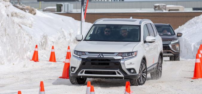 Conduite préventive hivernale avec Mitsubishi Motors à Rivière-du-Loup