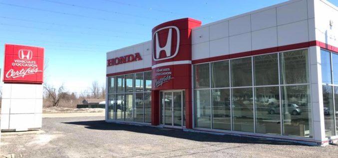 Auto Frank et Michel Honda se dote d'un nouveau bâtiment pour ses véhicules d'occasion
