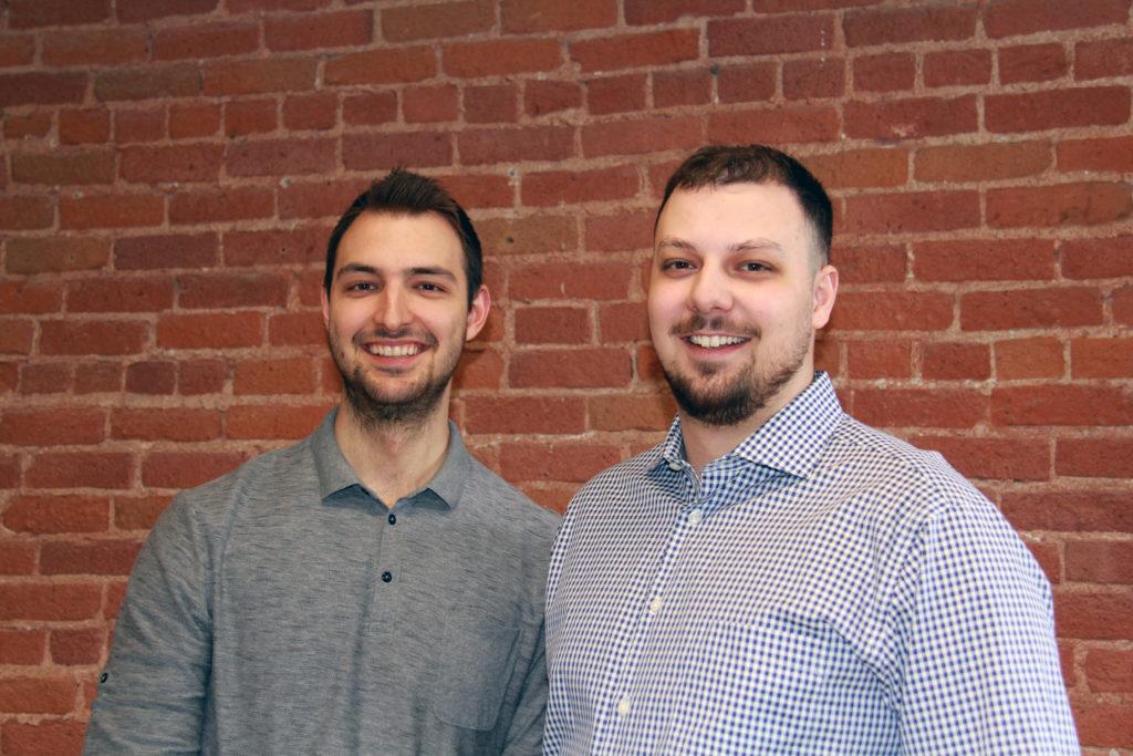 Ismael Meskin et Alex Wojcik Kimoby