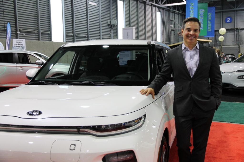 Frédéric Tremblay, directeur relations publiques et marketing – Région de l'Est pour Kia Canada.