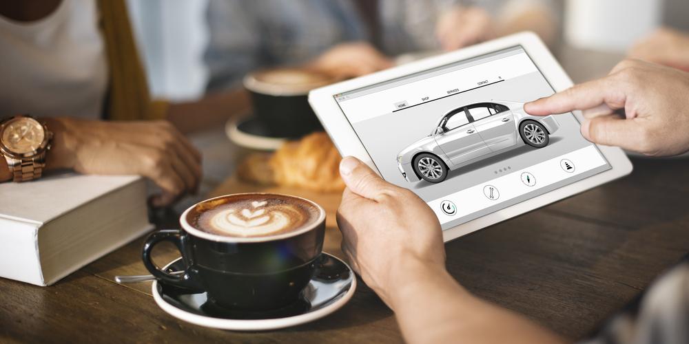 Magasiner sa voiture sur le Web