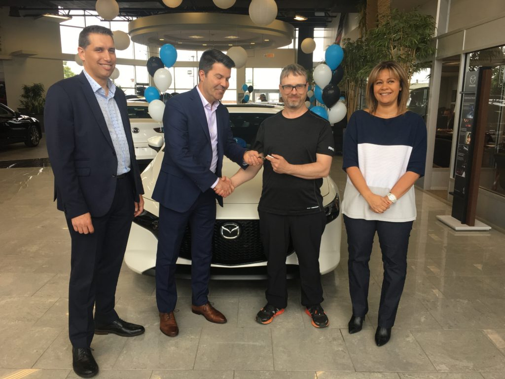 Concours Salon de l'auto de Québec Mazda3 AWD