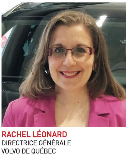Rachel Léonard, directrice générale de Volvo de Québec