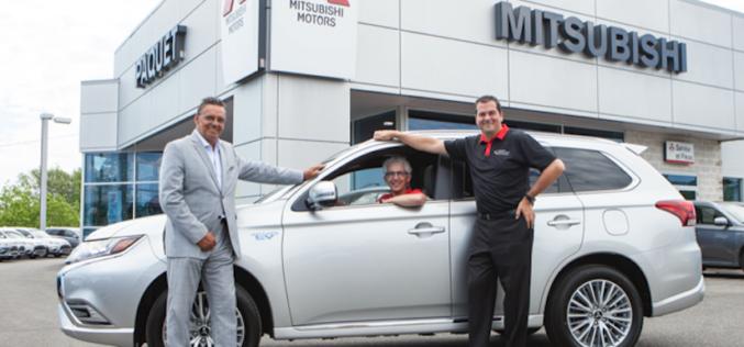 Un Québécois remporte le concours national Mitsubishi