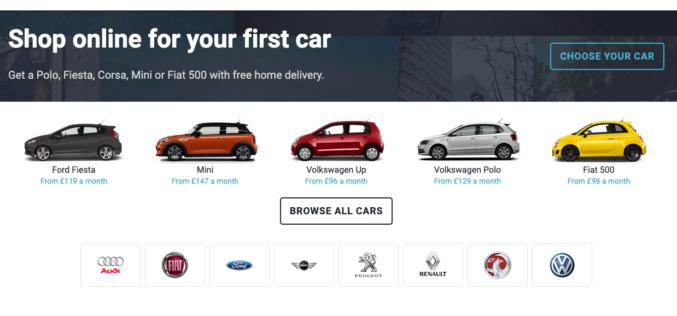 Les jeunes Britanniques peuvent désormais commander leurs véhicules en ligne