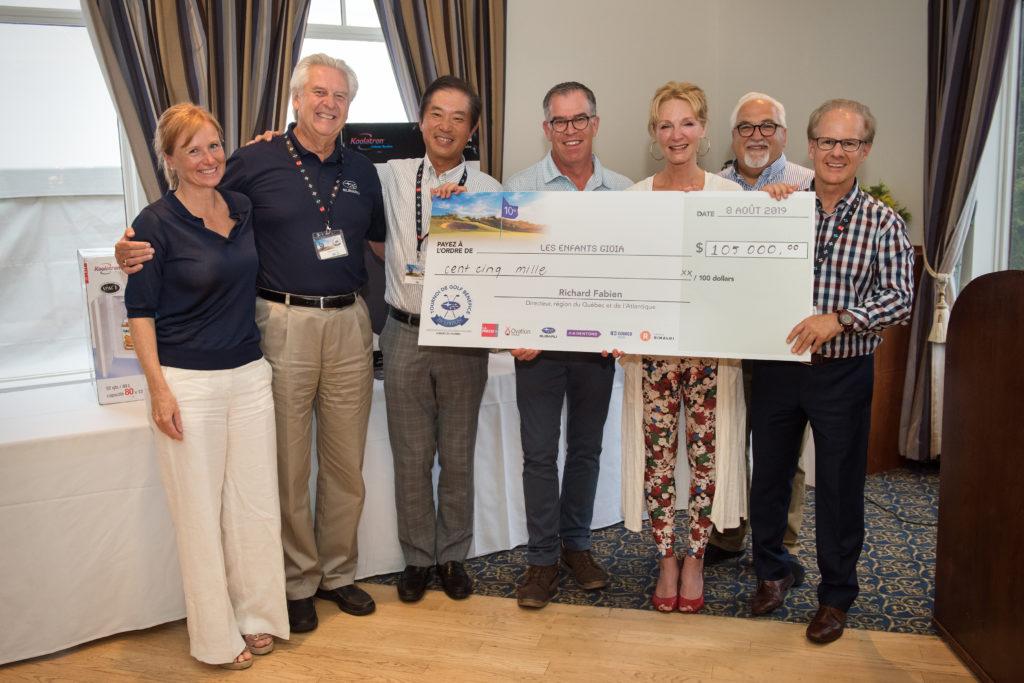Golf-bénéfice de l'Association des concessionnaires Subaru du Québec 2019