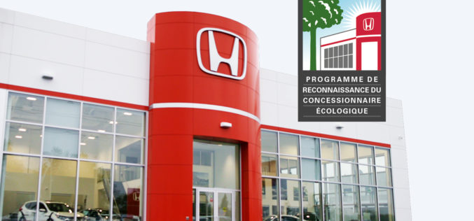 Êtes-vous un concessionnaire écolo Honda ?