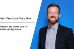 Jean-François Blaquière: nouveau directeur des ventes pour le Québec de Kijiji Autos