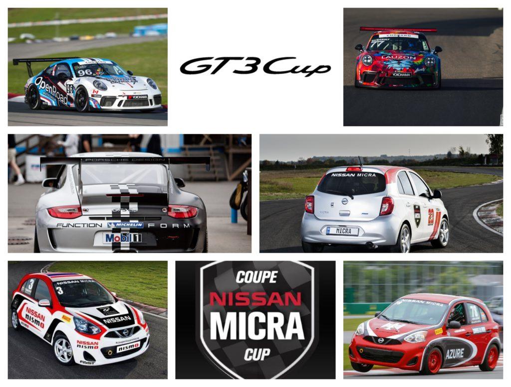 Porsche GT3 Cup Nissan Micra Cup
