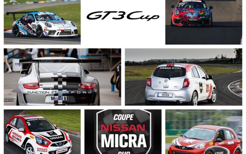 Les Coupes Porsche GT3 et Nissan Micra: Pareil, pas pareil?