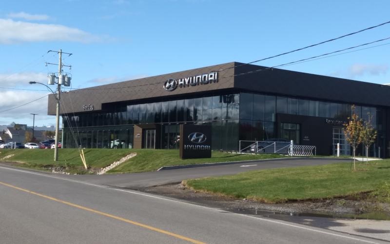 Ste-Foy Hyundai ouvre ses nouveaux locaux