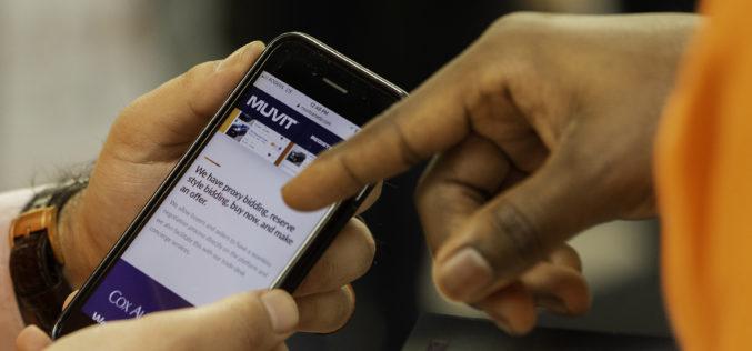 MUVIT: une nouvelle solution d'encan en ligne signée Cox