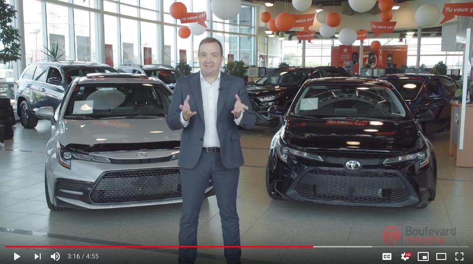 Vidéo Boulevard Toyota