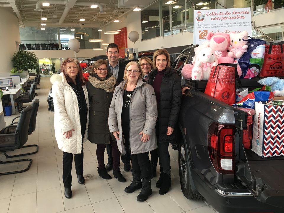 Lallier Ste-Foy Honda vient en aide à la Fondation Jonction pour Elle
