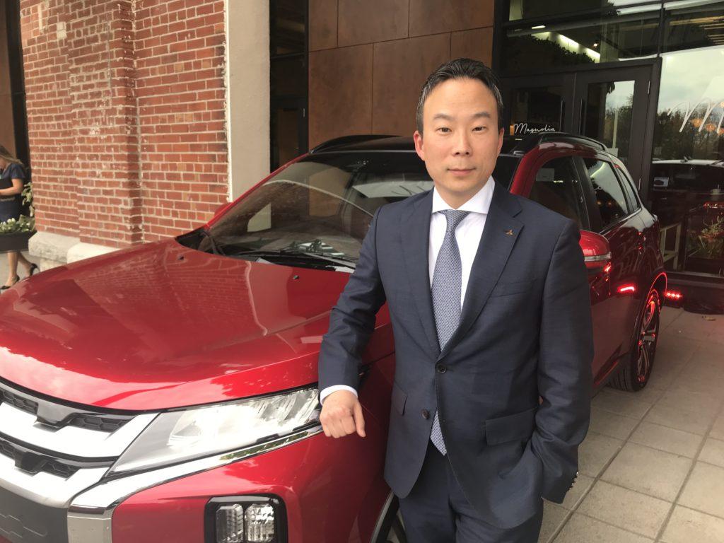 Juyu Jeon, alias JJ, président et chef de la direction de Ventes de véhicules Mitsubishi du Canada.