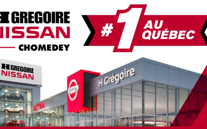 HGrégoire Nissan Chomedey : meilleur vendeur de la marque Nissan au Québec