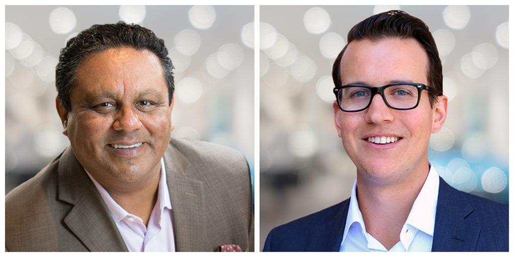 Farid Ahmad, PDG et Maxime Theoret, directeur financier de DSMA.