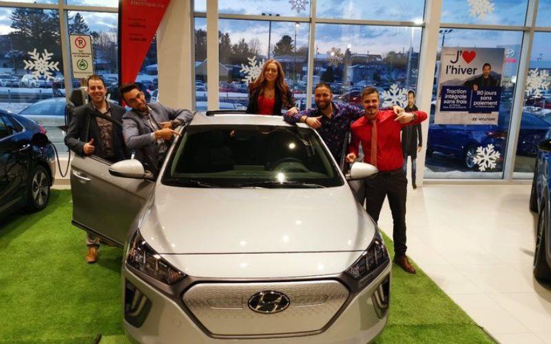 Le Groupe Vincent champion des ventes de VÉ Hyundai en 2019