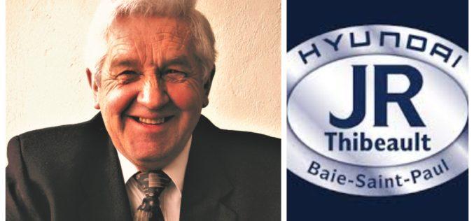 Le fondateur de Hyundai Jean-Roch Thibeault s'est éteint à 77 ans