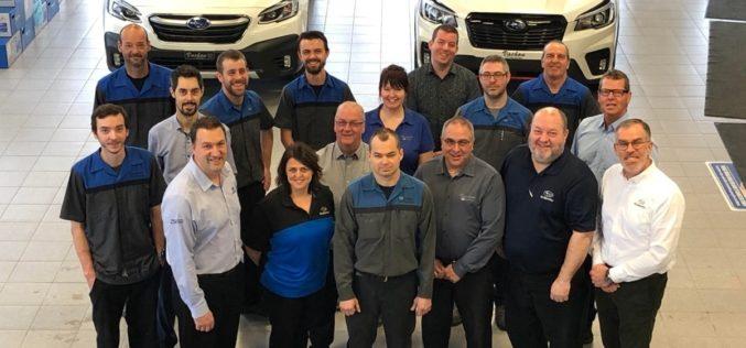 Vachon Subaru se voit décerner le prix Étoile de la performance 2019