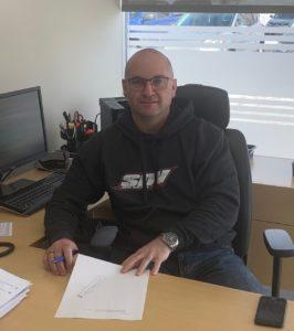 Tony Lefrançois, propriétaire de la concession Impact Ford