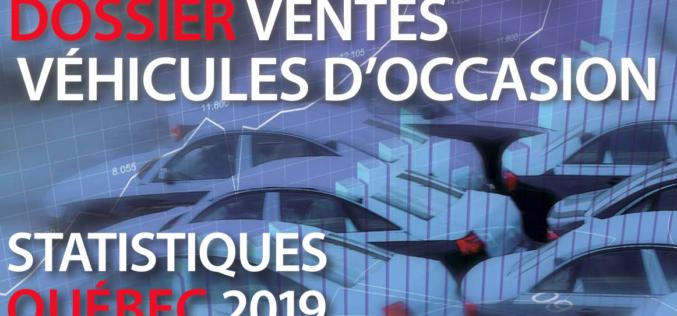 Les ventes de véhicules d'occasion au Québec en 2019