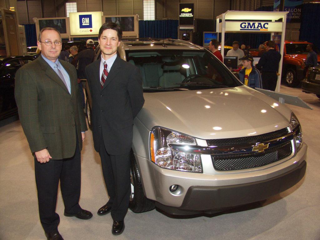 Robert Pagé, Salon de l'auto de Québec