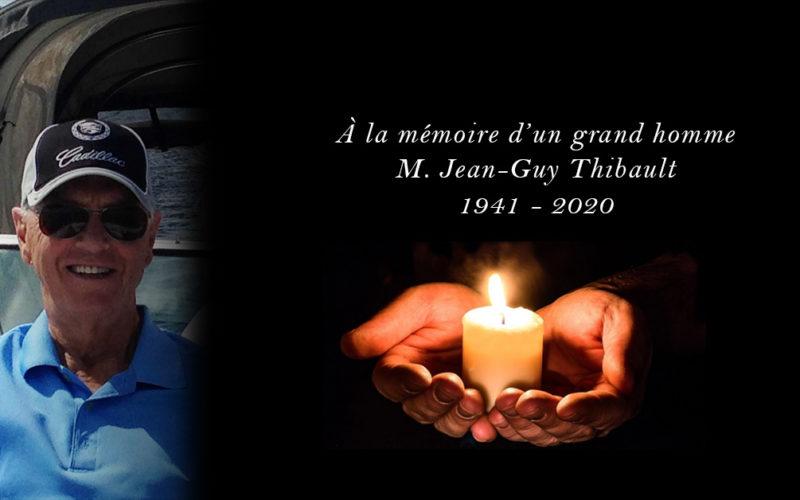 Au revoir M.Thibault