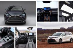 Dévoilement à distance de Toyota: Nouvelle Sienna et retour de la Venza 2021