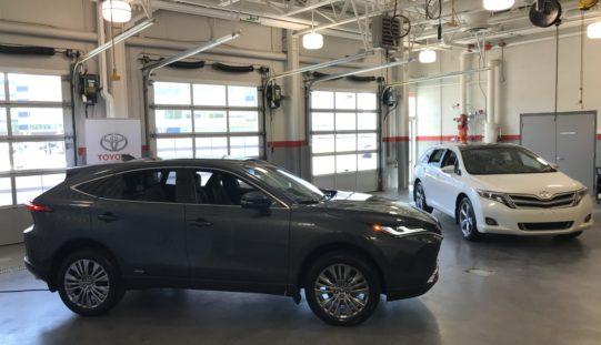 Toyota Venza 2021:  Prise 2