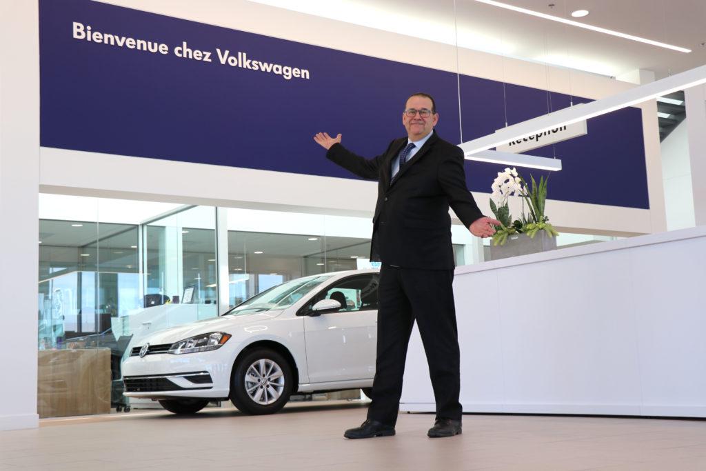 François Gravel, Volkswagen