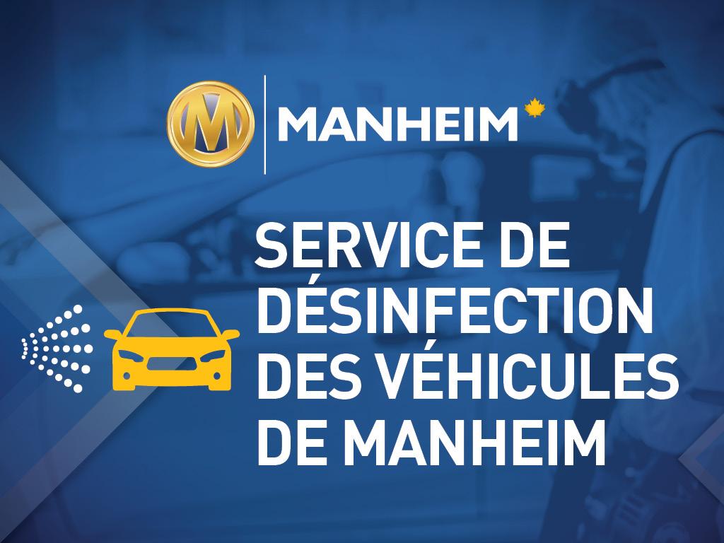 Désinfecter les véhicules à la manière de Manheim Canada