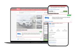 TRADER fait un pas de géant vers la vente de véhicules en ligne à grande échelle