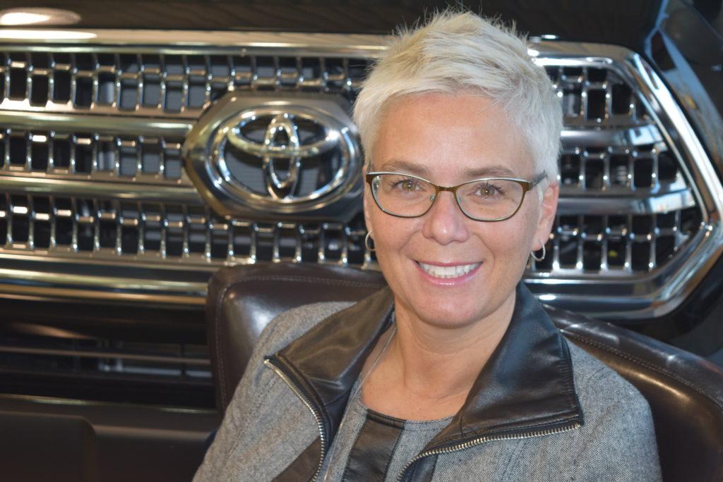 Chantal Lefebvre, présidente et copropriétaire chez Pierre Lefebvre Toyota