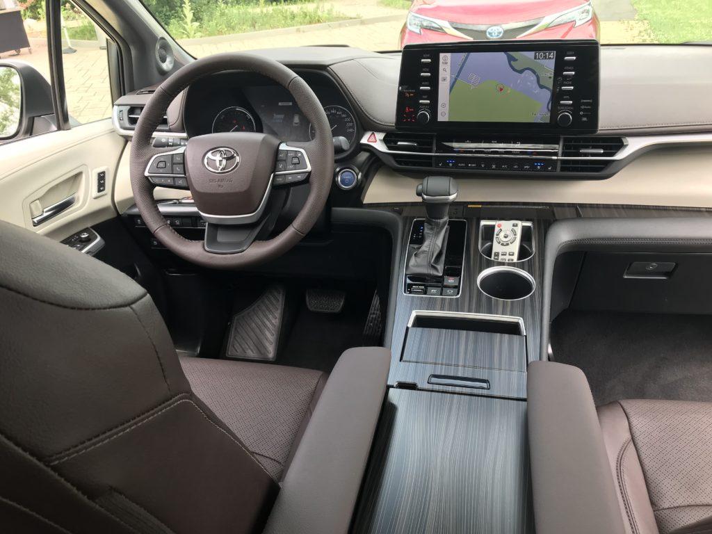 Toyota Sienna 2021 Intérieur Habitacle