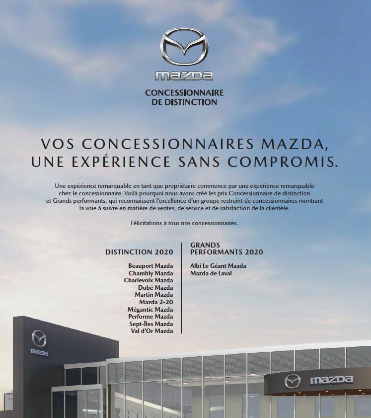 Prix Distinction Mazda