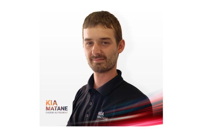 Guillaume Lavoie, le nouveau directeur pièces et services chez Kia Matane