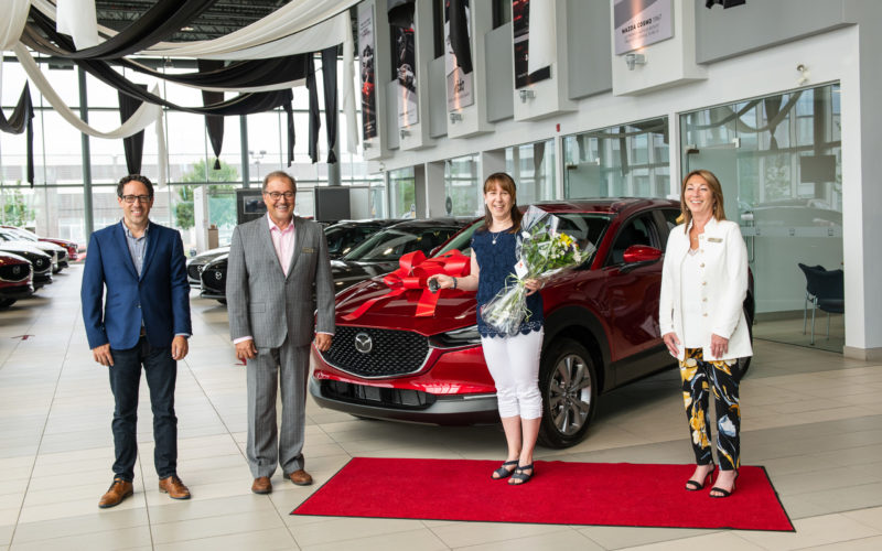 Mazda fait une heureuse gagnante du SIAQ