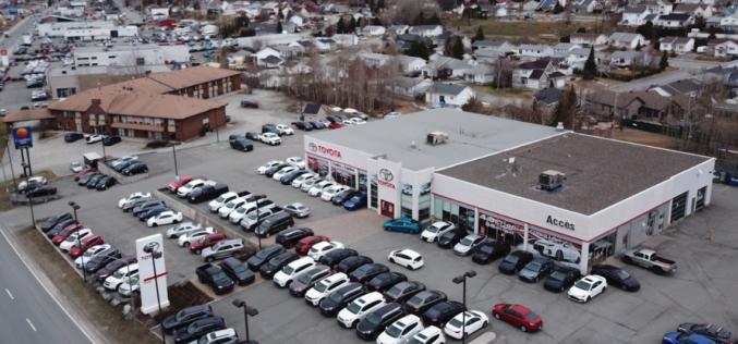 Accès Toyota à Rouyn Noranda change de propriétaire
