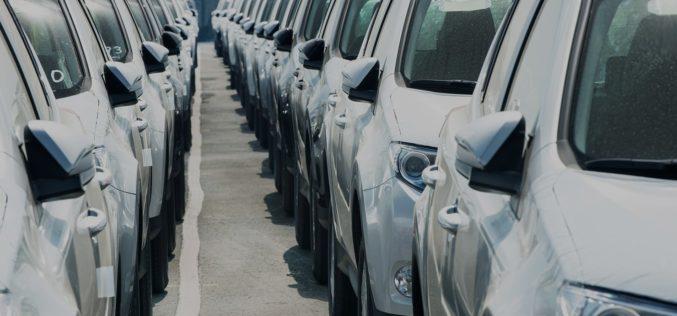 Baisse importante des ventes de flottes automobiles