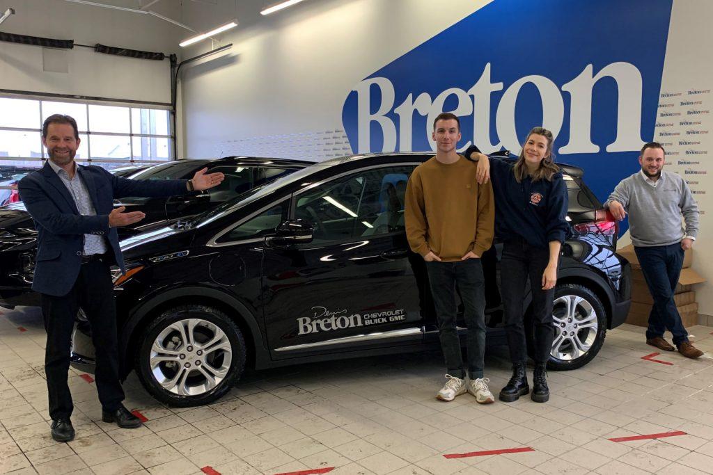 Pier-Luc Funk: Un 2e ambassadeur pour Denis Breton Chevrolet Buick GMC