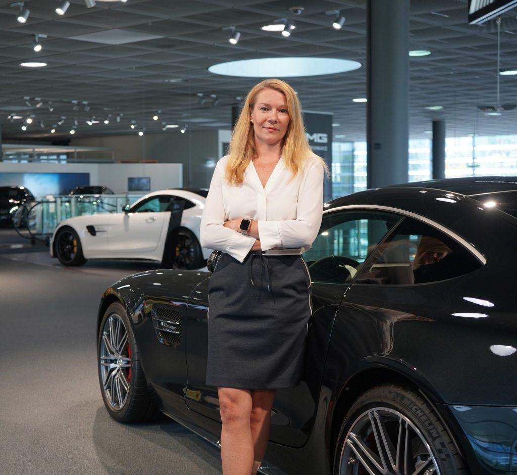 Eva Wiese Mercedes Benz Canada