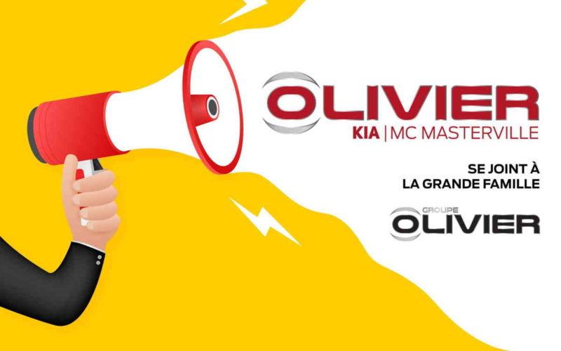 Le Groupe Olivier acquiert Kia Mario Blain de McMasterville