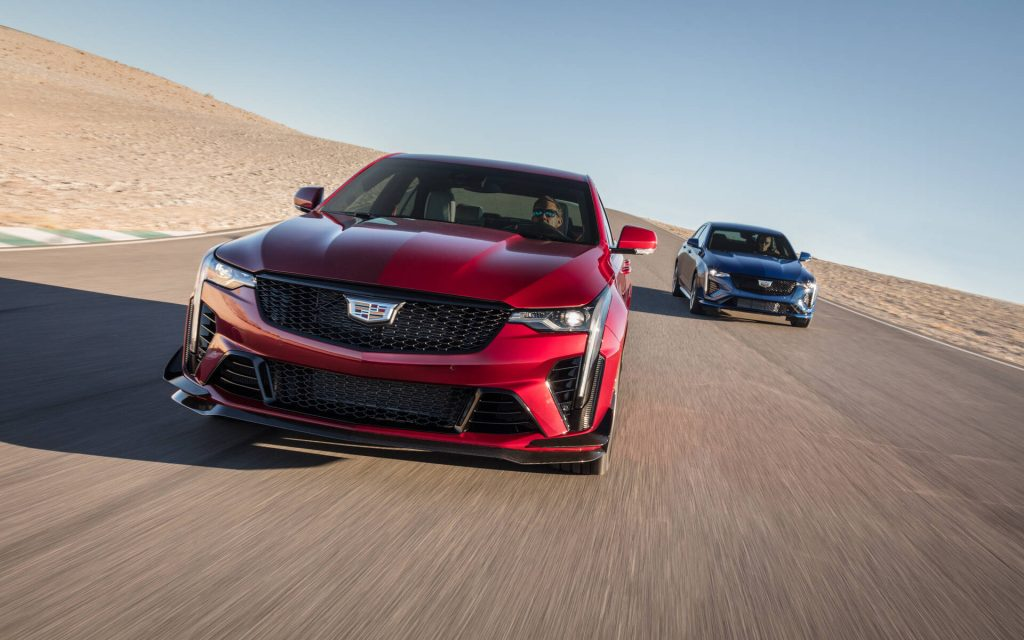 Cadillac CT-4 et CT-5 Blackwing 2022