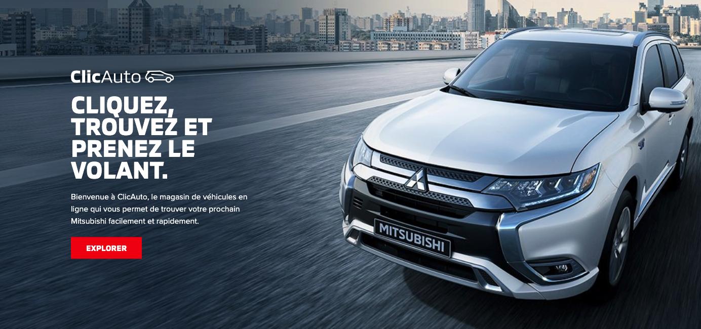 Mitsubishi ClicAuto Web