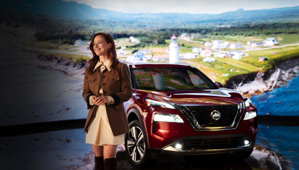 Karine Vanasse AutoMédia et Nissan