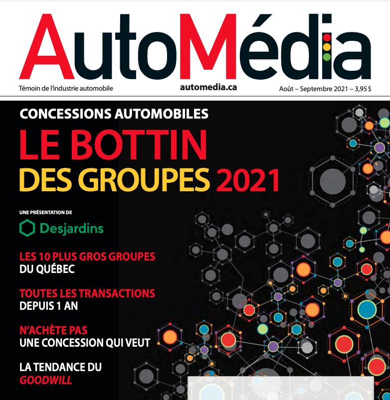 Bottin des groupes 2021