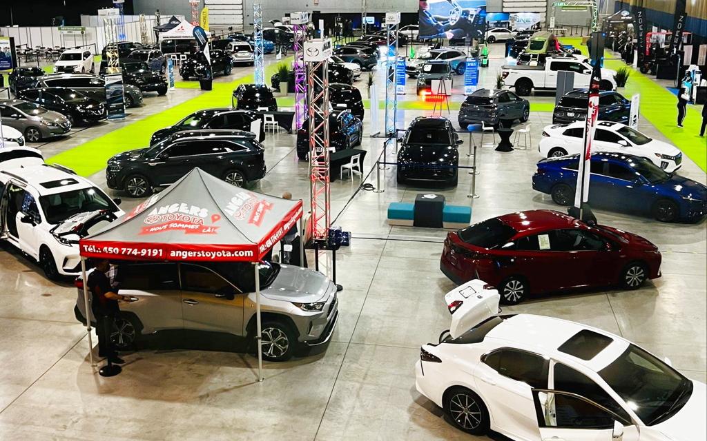 Le Salon du véhicule électrique de Saint-Hyacinthe a réuni une grande variété de modèles.