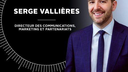 Serge Vallières : nouveau directeur des communications chez Park Avenue